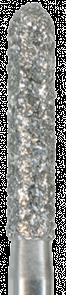 878-012C-FGM Бор алмазный NTI, хвостовик мини, форма торпеда, грубое зерно