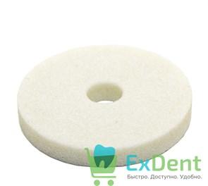 Круги абразивный шлифовальные 50Х7Х10 мм тонкий белый