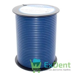 Восковая проволока Deton, D=2,5 мм, средняя твердость, синяя, (250 г)