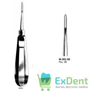 Элеватор №3B для удаления корней зубов прямой