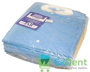 Халат операционный хирургический, XL, 150 см, не стерильный (10шт. упак)