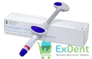 Esthet (Эстет) X HD A2 - светоотверждаемый рентгеноконтрастный компохитный материал (3 г)