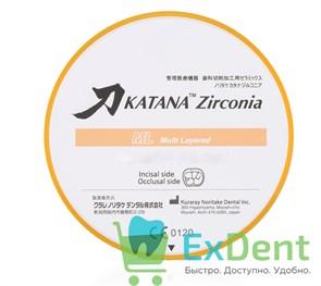 Блок из диоксида црикония ZR ML A WHITE Collar (14 мм)