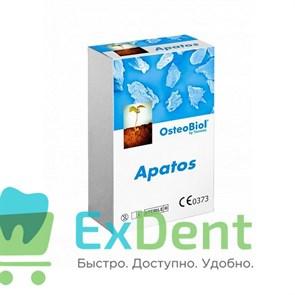 Apatos Mix - гранулы из смеси губчатой и кортикальной кости без коллагена (1 г)