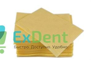 Салфетки для пациентов лимонные 3-х слойные, KRISTI 33 х 45 см (500 шт)