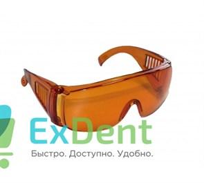 Очки защитные оранжевые для работы с лампой JNB