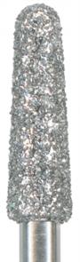 856-025M-HP Бор алмазный NTI, форма конус, закругленный, среднее зерно