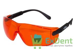 Очки светозащитные оранжевые