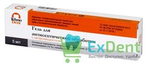 Гель для антисептической обработки - Хлоргексидин блиглюкноат 2% с метронидазолом ( 5 мл)