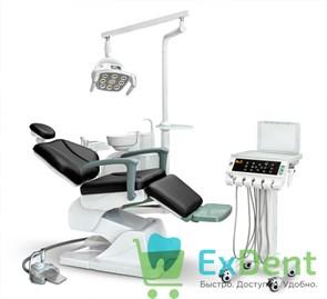 Стоматологическая установка AY-A 4800 II с 8-диодным светильником нижняя подача инструментов