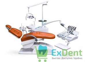 Стоматологическая установка AY-A 3600 верхняя подача инструментов, со стулом врача