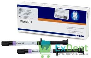 Fissurit F (Фиссурит) - светоотверждаемый герметик с фтором (2 х 2,5 г)