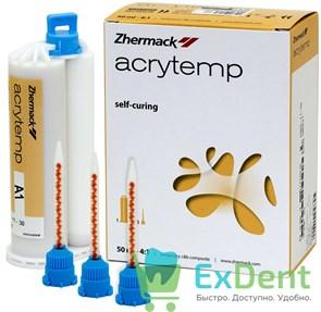 Acrytemp (Акритемп) A1 - самополимерная, композитная, пластмасса для коронок и мостов (50 мл)