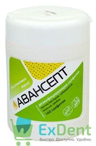 Салфетки дезинфецирующие   Авансепт  банка (160 шт)