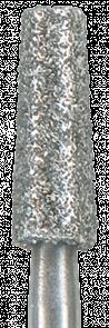 846-025M-HP Бор алмазный NTI, форма конус, среднее зерно