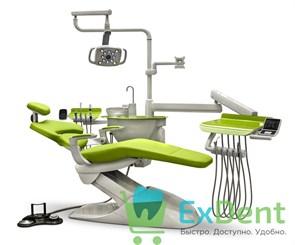 Стоматологическая установка Mercury 1000 нижняя подача инструментов, со стулом врача