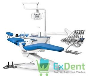 Стоматологическая установка Mercury 1000 верхняя подача инструментов, со стулом врача