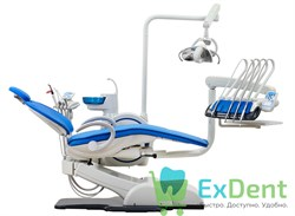 Стоматологическая установка WOSON WOD 730 (универсал) верхняя подача инструментов