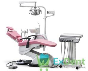 Стоматологическая установка WOSON WOD 550 детская с подкатным блоком, нижняя подача инструментов