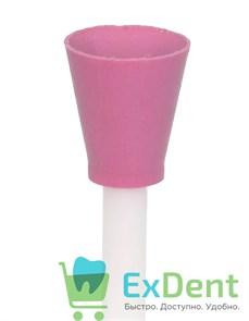 Полир Kagayaki Enforce Pin - розовый (средний) чаша, для полировки композитов (1 шт)