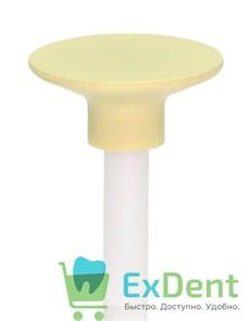 Полир Kagayaki Enforce Pin - желтый (мелкий) диск для полировки композитов (1 шт)