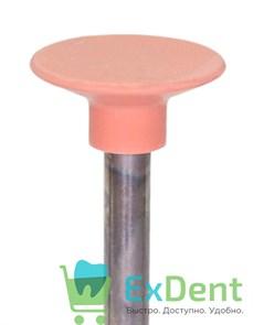 Полир Kagayaki Ensmart Pin - розовый (мелкая) диск, металл, для финишной полировки композита (1шт)