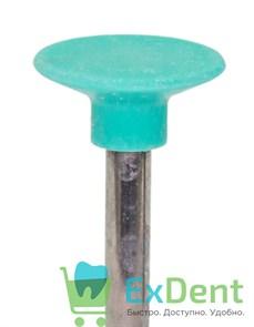 Полир Kagayaki Ensmart Pin - зеленый (средняя) диск, металл, для финишной полировки композита (1шт)