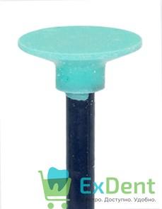 Полир Kagayaki Ensmart Pin - зеленый (средняя) диск, для полировки композита (1 шт)