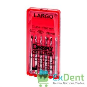 Largo (Ларго) №3, 28 мм, Dentsply, бор, для расширения устья канала (6 шт)