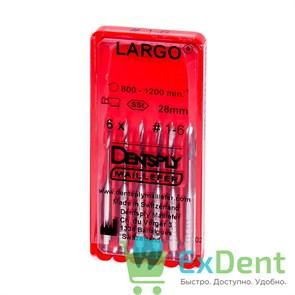 Largo (Ларго) №1-6, 28 мм, Dentsply, бор, для расширения устья канала (6 шт)
