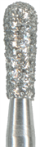 830L-018F-FG Бор алмазный NTI, форма грушевидная длинная, мелкое зерно