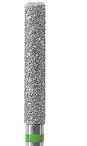 842KR-023C-HP Бор алмазный цилиндр, круглый кант NTI