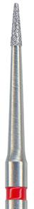 132-008F-FG Бор алмазный NTI, форма конус, мелкое зерно