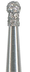 802-014C-FG Бор алмазный NTI, форма шаровидная (с воротничком), грубое зерно
