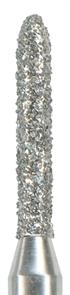 877-010F-FG Бор алмазный NTI, форма торпеда, мелкое зерно