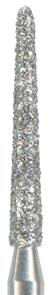 879K-014C-FG Бор алмазный NTI, форма торпеда,коническая, грубое зерно