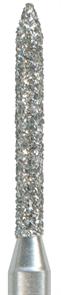 885-010M-FG Бор алмазный NTI, форма цилиндр, остроконечный, среднее зерно
