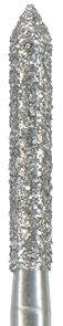 886-014C-FG Бор алмазный NTI, форма цилиндр, остроконечный, грубое зерно