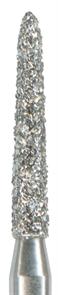878K-014M-FG Бор алмазный NTI, форма торпеда,коническая, среднее зерно
