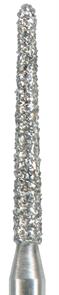879K-012C-FG Бор алмазный NTI, форма торпеда,коническая, грубое зерно