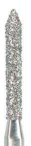 885-012F-FG Бор алмазный NTI, форма цилиндр, остроконечный, мелкое зерно
