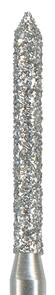 886-010F-FG Бор алмазный NTI, форма цилиндр, остроконечный, мелкое зерно