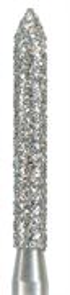 886-012C-FG Бор алмазный NTI, форма цилиндр, остроконечный, грубое зерно
