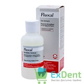 Fluocal (Флюокаль) gel - гель для профилактики кариеса и снятия повышенной чувствительности (125 мл)