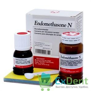 Endomethasone N (Эндометазон Н) комплект - материал для пломбирования зубных каналов (14 г + 10 мл)