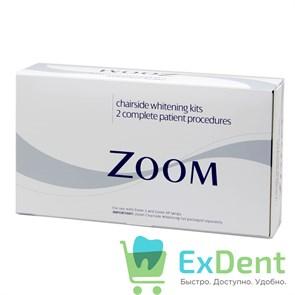 Zoom (Зум) chairside - 2 клинических набора для отбеливания зубов (на основе 25% перекиси водорода)