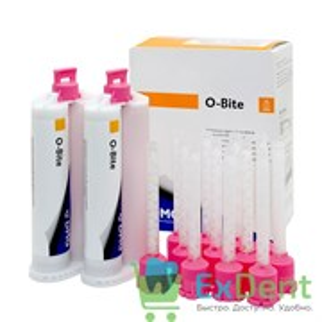 O-Bite (О-Байт) -  материал для регистрации прикуса на основе А-силикона (2 х 50 мл)