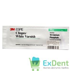 Clinprо (Клинпро) White Varnish - фторсодержащее покрытие с трикальций фосфатом (0,50 мл)