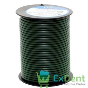 Восковая проволока Duron, D=3,5 мм, твердая, зеленая (250 г)