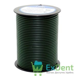 Восковая проволока Duron, D=3,0 мм, твердая, зеленая (250 г)